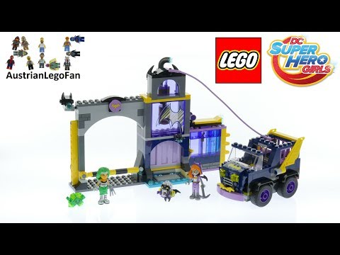 Vidéo LEGO DC Super Hero Girls 41237 : Le Bunker secret de Batgirl