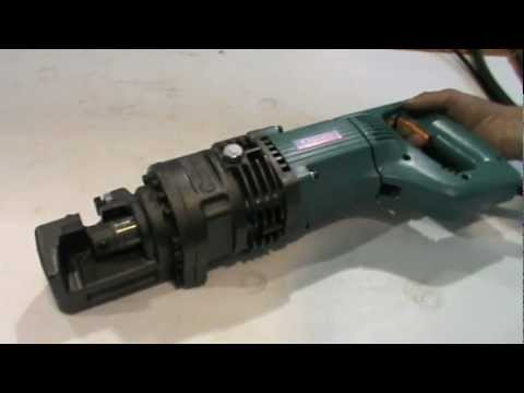 Ogura HBC-816 Rebar Cutter Demonstration