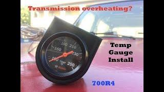 Trans Temp Gauge Install Viveos. 91 K5 Blazer Transmission Temperature Gauge Install. Wiring. Mjm 700r4 Wiring Schematic At Scoala.co