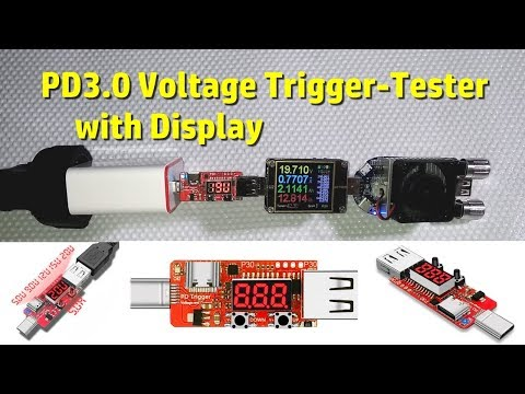 PD3.0 Voltage Trigger-Tester Review and Output Tests