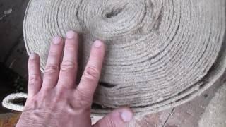 Льноватин, шир.15 см от компании ЭКО-ДОМ - видео