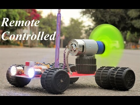 How To Make a Remote Control Car - Very Simple