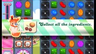 Candy Crush Saga Level 1659 walkthrough (no boosters)