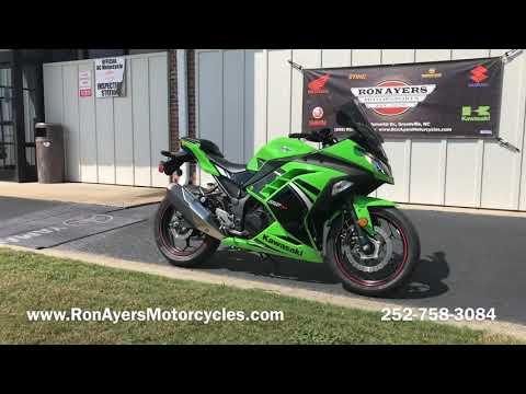 2014 Kawasaki Ninja® 300 ABS SE in Greenville, North Carolina - Video 1