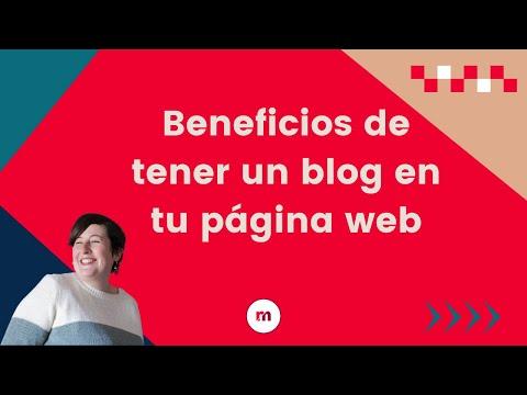 Beneficios de tener un blog en tu página web