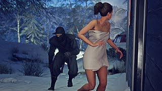 HITMAN Ninja Hokkaido Eliminate Everyone With Striker Subscriber Request