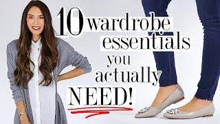 10 Wardrobe ESSENTIALS You ACTUALLY Need! *transforming*