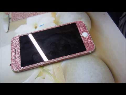 Glitzerfolie auf I Phone 6 kleben