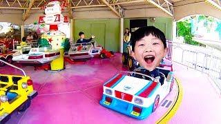 에버랜드 놀이동산 자동차 놀이기구 타기 동물 사파리 야간 퍼레이드 어린이 테마파크 Kids Amusement Park Baby Educational Video