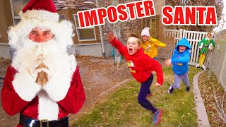 We Caught an Imposter Santa! Fun Squad Secret Mission!