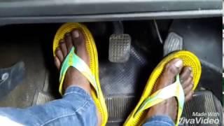Learning car drive in hindi    In india    car learn by karunesh kaushal