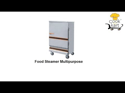 Food Steamer Multipurpose 4 Trays Electric