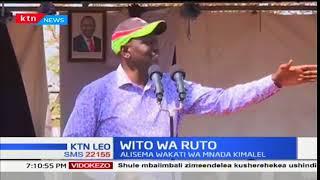 William Ruto atoa wito wa kukomeshwa kwa uvamizi na mizozo wa mifugo Baringo