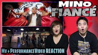 MINO (송민호)   FIANCÉ (아낙네) | Mv REACTION
