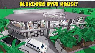 I Built The HYPE HOUSE In Bloxburg! *NEW SERIES* (Roblox)
