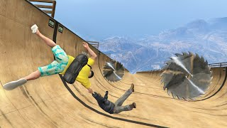 GTA 5 Epic Ragdoll Fails Episode 110 [Funny Moments]