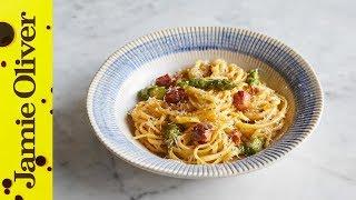 JAMIE'S SPECIALS | Asparagus Carbonara | Jamie's Italian