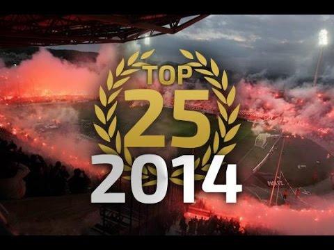 Top 25 TIFO actions in 2014