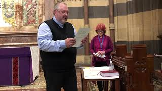 Reverend Neil Taylor's commisioning to Christ Church, Melton at St Paul's Cathedreal March 2