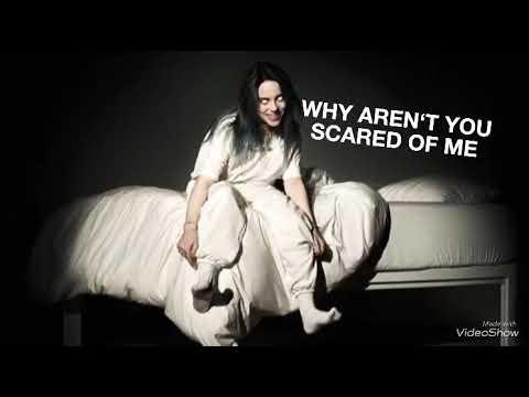 Billie Eilish - When we all fall asleep , where do we go? ( Lyrics Video ) #billieeilish #album 🕷