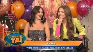 """Thalía Defiende Su Tema """"Lindo Pero Bruto""""   Cuéntamelo YA!"""