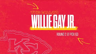 """The Call"" to Willie Gay Jr."