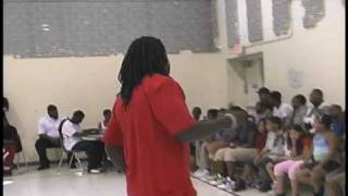 Ace Hood Tells Kids How To Be a Champion - Day 2 Ruthless Tour, NC