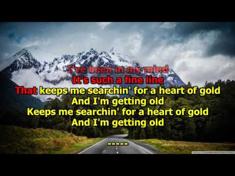 Heart of Gold - (HD Karaoke) Neil Young