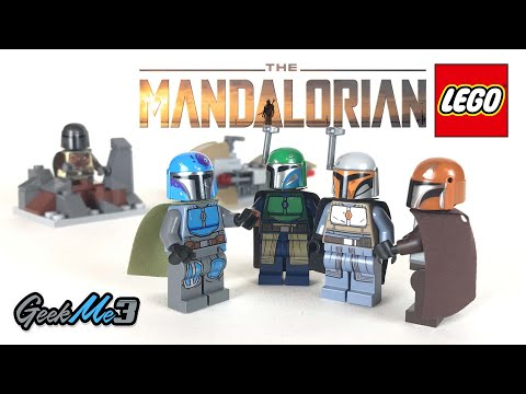 Vidéo LEGO Star Wars 75267 : Pack de combat Mandalorien
