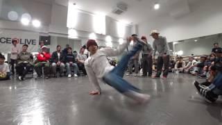 明治大学【あめいじー】  vs 埼玉大学【アナクロニズム X】 BEST4 / DANCE@LIVE 2017 RIZE KANTO CLIMAX
