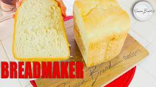 Shelter Preparedness Recipe | BEST BREAD MAKER BREAD RECIPE : Salt, Sugar, Oil, Flour, Yeast