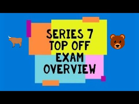 Series 7 top off exam prep 2020 ( with a surprise) - YouTube