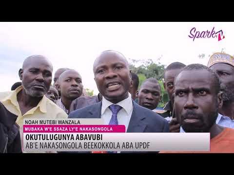 Abavubi balumirizza UPDF okubatulugunya