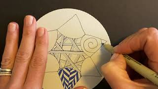 Project Pack No. 07: 12 Days of Zentangle - Day 03