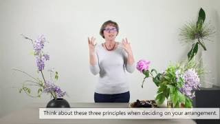 Ikebana Arrangements with Ornamental Flowers Introduction