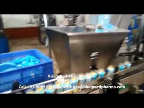 Ghee Filling Machine