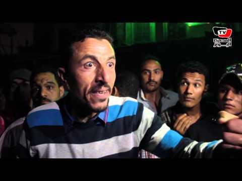 أهالي «بولاق أبو العلا» يقطعون الكورنيش إحتجاجاً علي إعتداء الشرطة على بائع