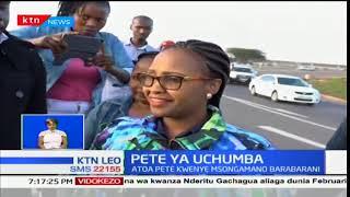 Pete ya Uchumba:Mwanamume atoa pete kwenye msongamano barabarani