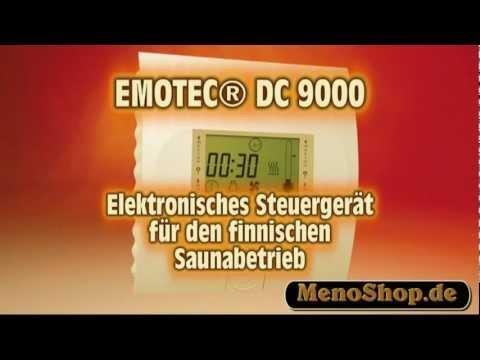 EMOTEC DC 9000 EOS SAUNA STEUERUNG - EMOTEC DC 9000