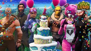 FORTNITE 1ST BIRTHDAY PARTY WITH EVERYONE! Fortnite Short