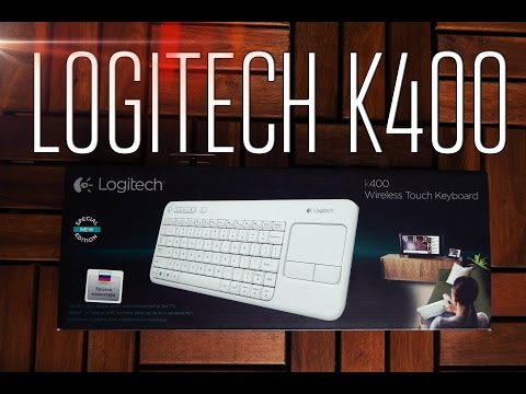 Logitech Wireless Touch Keyboard K400 инструкция