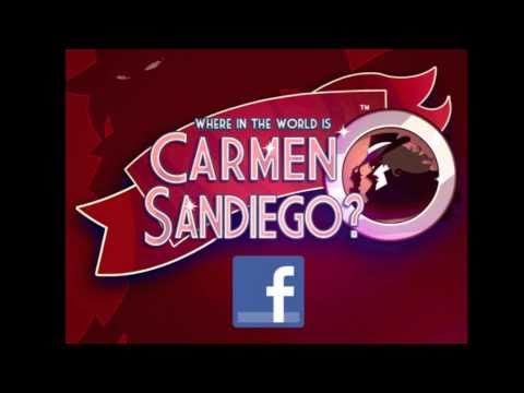 Picture from Carmen Sandiego found on Facebook