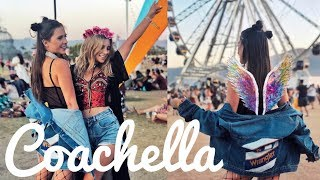 COACHELLA 2018 VLOG: STYLIZACJE FESTIWALOWE! - Video Youtube