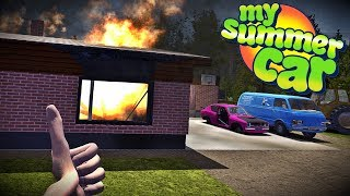 HOUSE FIRE | My Summer Car #28