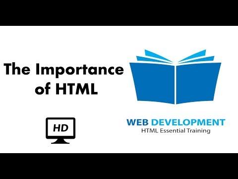 The Importance of HTML   Web Development   Lynda Free Courses