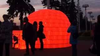 VIDEO : BIBIGLOO - Circle of light Festival - Moscou, Russie 2014