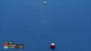 Just. 2019 World Indoor Bowls Championships: Day 4 Session 1