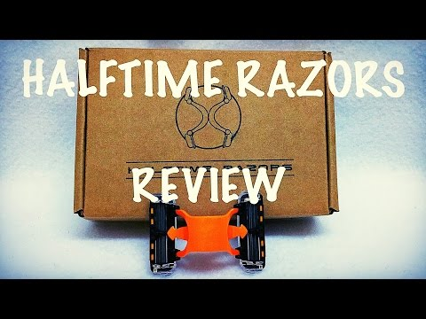 Halftime Razors Review – 12 Blades!!!