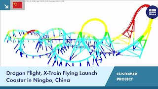[ZH] CP 000944 | Dragon Flight Roller Coaster in Ningbo, China