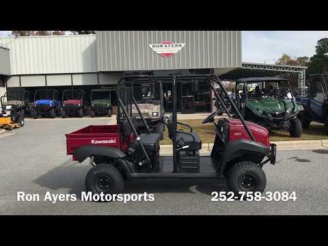 2018 Kawasaki Mule 4000 Trans in Greenville, North Carolina - Video 1